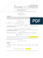 Corrección Segundo Parcial Cálculo III 5 de diciembre de 2011