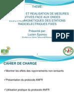 Conception Et ion de Mesures Preventives Face Aux Ondes Electromagnetiques Des Stations Radioelectriques Fixes