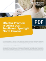 Effective Practices in Online Dual Enrollment
