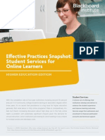 Effective Practices Snapshot