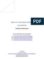 "Notes on ""True Stories of Death by Feiz Muhammad"""