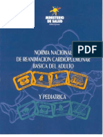 Desfibrilacion MINSAL CHILE 2011