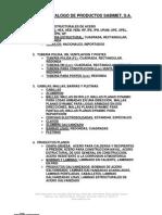 Catalogo de Productos Sabimet - Tuberia y Perfiles