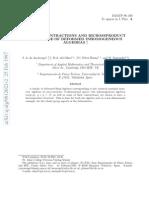 J. A. de Azcarraga, M.A. del Olmo, J.C. Perez Bueno and M. Santander- Graded Contractions and Bicrossproduct Structure of Deformed Inhomogeneous Algebras
