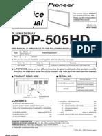 Pioneer Pdp505hd Plasma [ET]