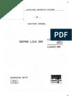 Despiece motor Lombardini serie LDA96