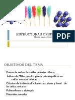Parte 2 Estructuras Cristalinas y Amorfas en Los Materiales