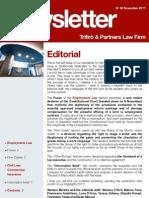 Newsletter T&P N°53 Eng