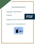 Informe de Lab Oratorio de Campo