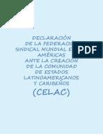 CELAC - Declaracion FSM