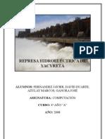 Represa Hidroeléctrica de Yacyretá