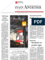New Canaan Advertiser 12.01.11