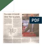 Sociala intranät demokratiserar arbetsplatsen