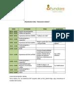 Datos Foro Negocios Verdes