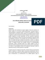 Cuaderno 2 Reflexion Politica Sobre Desarrollo y Territorio