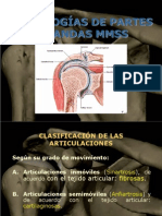 PATOLOGÍA PARTES BLANDAS MMSS