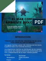 El Mar Como Ambiente Biologico