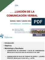 EV-COMUNICACIÓN VERBAL