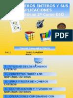 Expo Sic Ion de Contenidos Unidad Didactica Numeros Enteros