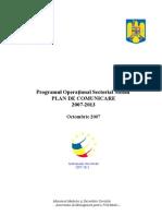 Plan Comunicare 2007-2013