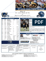 Week 14 - Rams at Seahawks