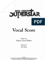Jesus Christ Superstar - Piano Vocal Score