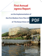 Vision 2030 - MTP 2008-2012 - First Annual Progress Report