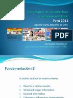 IPYS Medios y Elecciones SPedraglio