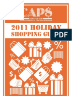 CAPS Holiday Shopping Guide 2011