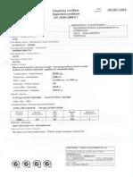 Certificado Do Material de Base - Prozinco 4P