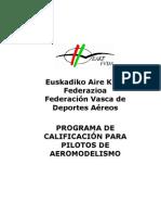 Titulaciones Aeromodelismo