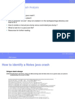 Client Java Crash1