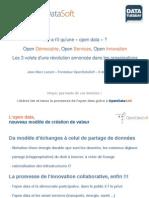 Open data et gouvernance des organisations par www.opendatasoft.com