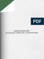 BENJAMIN WALTER. Charles Baudelaire. Un Lírico en la época del altocapitalismo