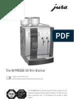 Download Manual Jura Impressa x9win English