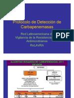 Protocolo Detección CARBAPENEMASAS_ReLAVRA2011