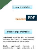 Diseños experimentales DCA - Factorial