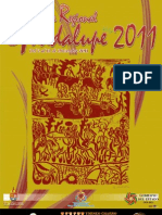 Programa Feria Regional de Guadalupe 2011