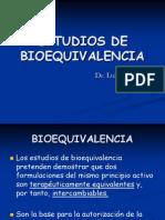 Estudios de Bioequivalencia Sin Polemica