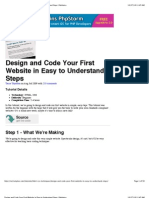 HTML and Css From PDF Tutorial