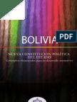 Nueva Constitución Política del Estado. Conceptos elementales para su desarrollo normativo