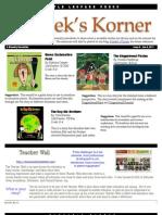 Kordek's Korner Dec 6, 2011