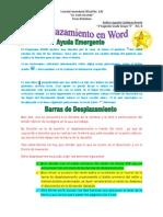 Desplazamiento en Word PRÁCTICA 4