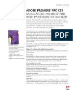 P2 Workflow Adobe Premiere CS3