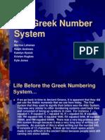 18 Greek Number System PP