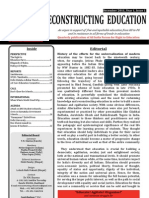 AIF-RTE English Newsletter Reconstructing Education December 2011