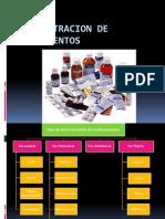 Admin is Trac Ion de Medicamentos via Enteral