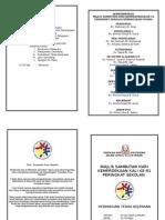 Brochure Majlis Sambutan Kemerdekaan Kali Ke-51