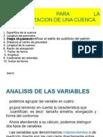 Variables Para La Carecterizacion de Una Cuenca[1]