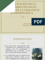 Expo Sic Ion Participacion de La Enfermera en La Vigil an CIA Epidemiologica